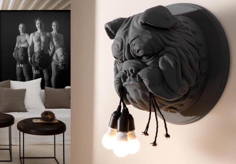 Karman. Amsterdam. Designerska lampa ścienna.