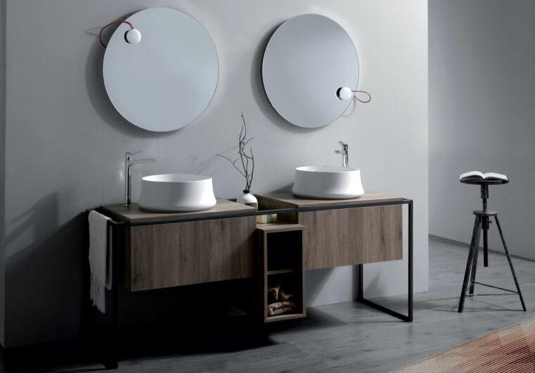Simas. Frarme. Meble łazienkowe w nowoczesnym stylu.